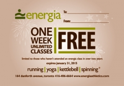December Updates at Energia Athletics