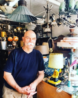 Faces of the Danforth: Albert at Der Dietemann Antiques