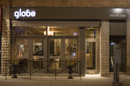 Special Winterlicious Menu at Globe Bistro